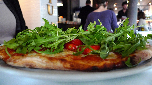Pizza Chic - one of a growing number of non-French eateries in Saint-Germain