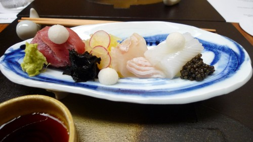 Sushi at Okuda - photo by Thierry Richard of Chroniques du Plaisir