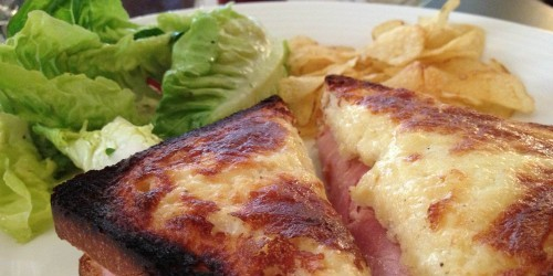 Croque Monsieur with truffle salt at Cafe Trama in Paris | parisbymouth.com