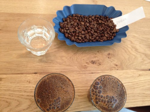 cupping belleville brulerie Paris beans roasting