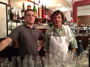 Boris and Patrick Fabre from Aux Tonneaux des Halles