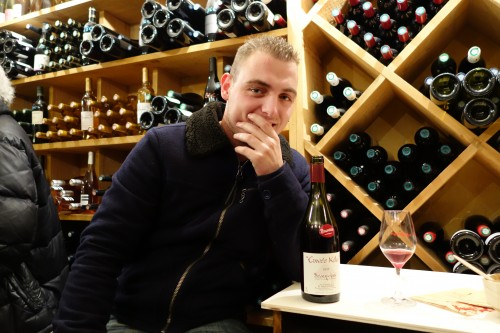 Kevin Descombes, the young maker of Cuvee