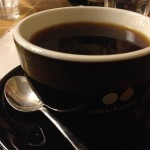 V60 filtered coffee at Coutume