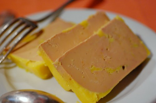 Foie gras de Landes from L'Ami Louis (photo- Julien Tort)