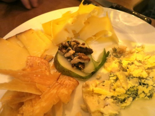 Le Richer cheese plate (photo by Alexander Lobrano)