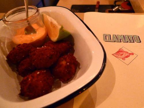 Accrabes at Clamato restaurant in Paris  | parisbymouth.com