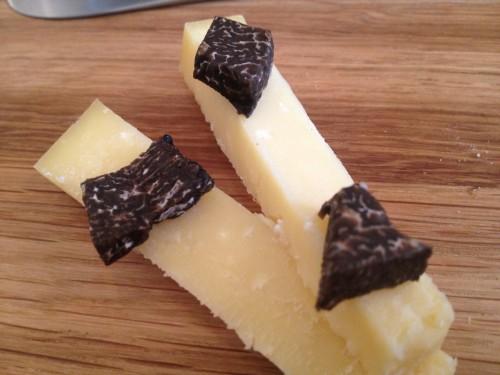 24 months Comte with black truffle at Restaurant David Toutain in Paris | parisbymouth.com