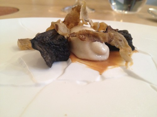 Jerusalem artichoke dessert at Restaurant David Toutain in Paris | parisbymouth.com