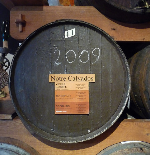 Calvados Ageing Barrel (photo: Jennifer Greco)