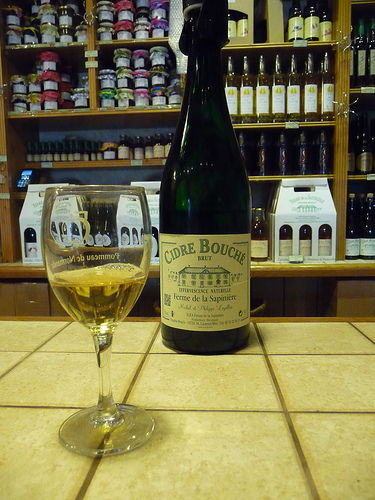 cidre bouché (photo: Jennnifer Greco)