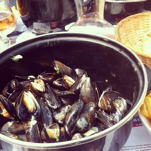 moules (photo: Jennifer Greco)