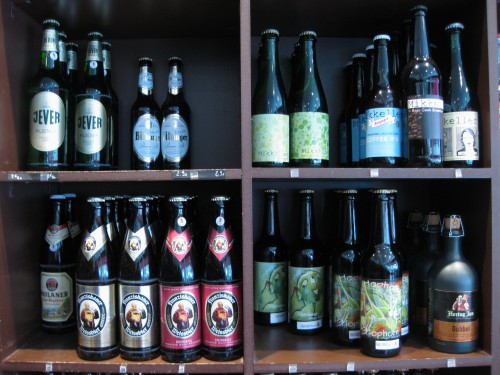 Paris craft beer shops