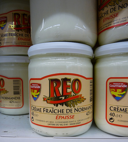 Creme Fraiche de Normandie (photo: Jennifer Greco)