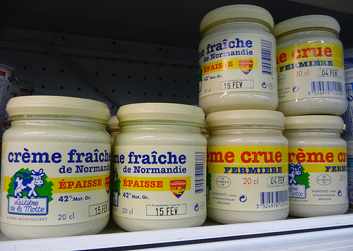 creme fraiche (photo: Jennifer Greco)
