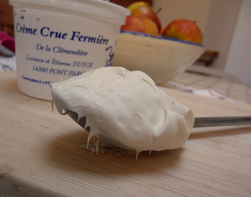 Creme Crue Fermeiere (photo: Jennifer Greco)