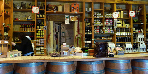 tasting room (photo: Jennifer Greco)
