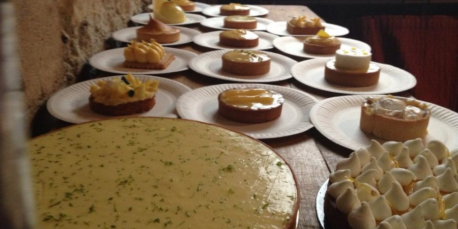 Lemon Tart Line Up Photo Catherine Down