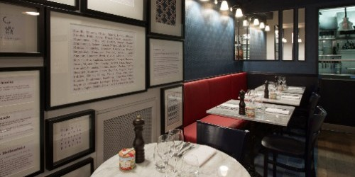 Aux Enfants Gates restaurant in Paris photo via their website | parisbymouth.com