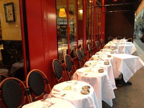 Le Comptoir du Relais - no reservations needed at lunch