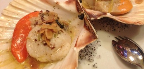 scallops le comptoir du relais photo catherine down