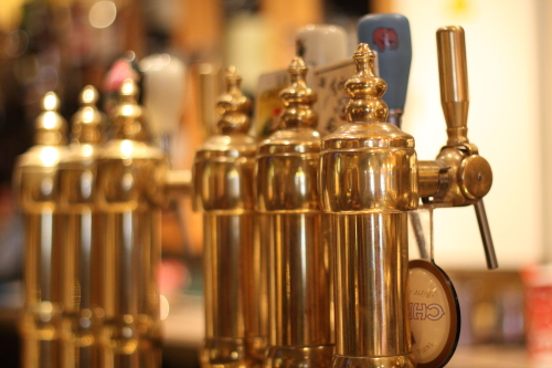 beer taps by Nick Malmquist