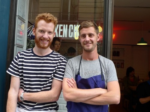 Chefs Michael Greenwold and James Whelan of The Sunken Chip in Paris | parisbymouth.com