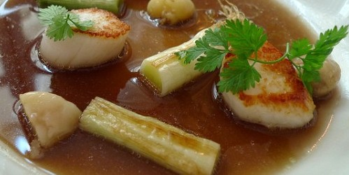 Scallops at Garance restaurant in Paris | parisbymouth.com