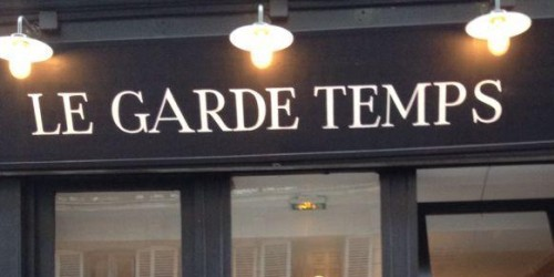 Le Garde Temps restaurant in Paris | parisbymouth.com