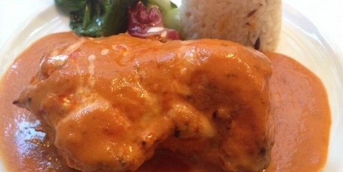 butter chicken at mg road in paris | parisbymouth.com