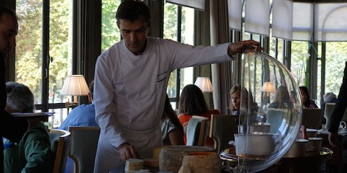 Yannick Alleno at Ledoyen restaurant in Paris | parisbymouth.com