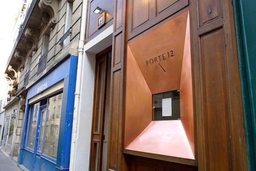 Exterior Porte 12 restaurant in Paris 10th arrondissement