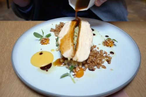 Chicken from Landes at Porte 12 in Paris