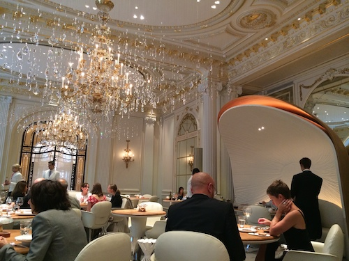 Alain Ducasse at Plaza Athenee decor
