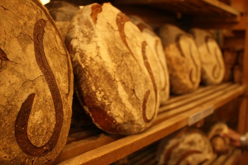 Traditional loaves from Poilane