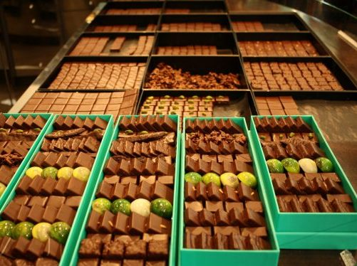 Patrick Roger chocolates in Paris