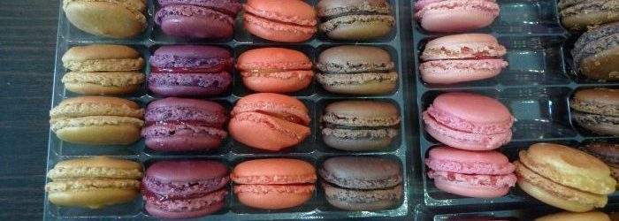 Best macarons in Paris from Gregory Renard 75005
