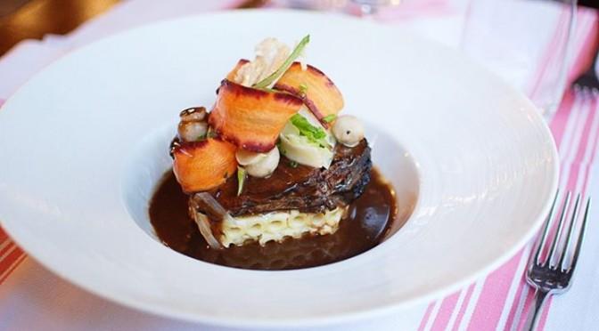 beef at L'Entredgeu restaurant in Paris | parisbymouth.com