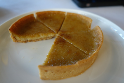 Beer tart  at Ledoyen restaurant in Paris | Paris by Mouth