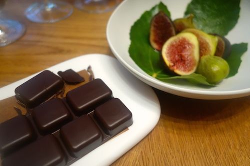 fig and chocolate