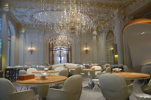 On the Menu at: Ducasse at le Plaza Athenée