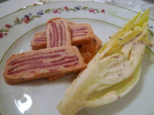 endives at Benoît restaurant in Paris | parisbymouth.com