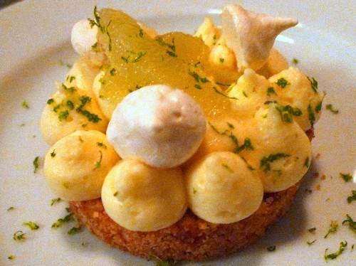 Lemon Tart at Maison F in Paris  | parisbymouth.com