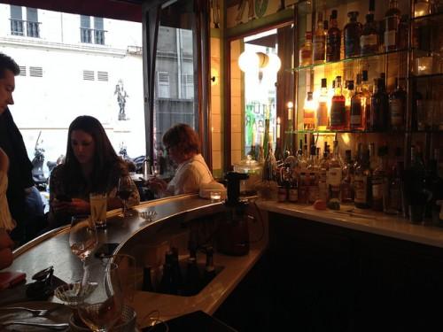 The bar at Clown Bar in Paris | parisbymouth.com