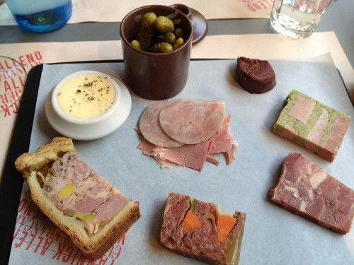 charcuterie at Terroir Parisien restaurant in Paris | parisbymouth.com