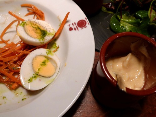 Oeufs Mayo at La Cantine du Troquet Dupleix restaurant in Paris | parisbymouth.com