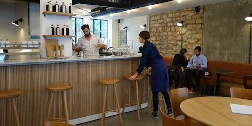 Bar at 52 rue Faubourg Saint Denis in Paris