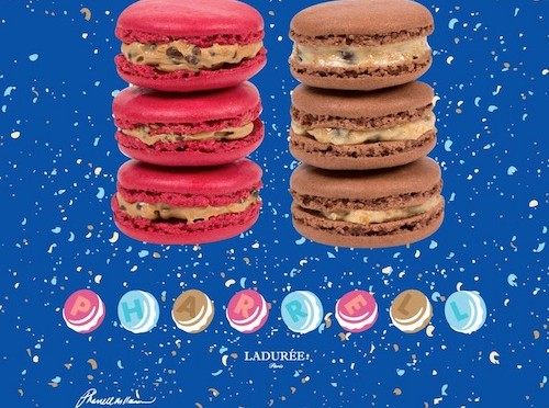 The Taste of Hype: Pharrell macarons from Ladurée at Colette
