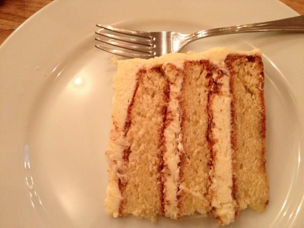 cake at Treize - a baker's dozen cafe in Paris | parisbymouth.com