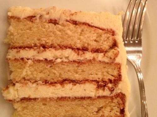 cake at Treize - a baker's dozen cafe in Paris   parisbymouth.com