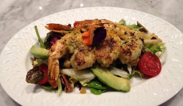 shrimp at rachel's pont aux choux photo facebook